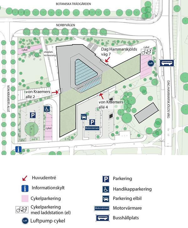 blåsenhus uppsala karta Directions   IT Division   Uppsala University, Sweden blåsenhus uppsala karta